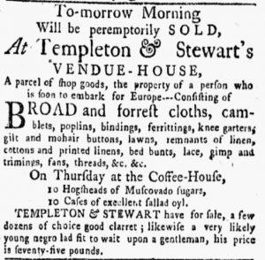 Jun 11 - New-York Gazette and the Weekly Mercury Slavery 4