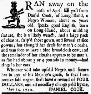 Jun 29 - New-London Gazette slavery 1
