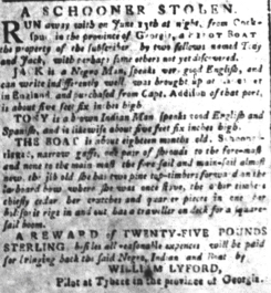 Jun 29 - South-Carolina and American General Gazette slavery 6