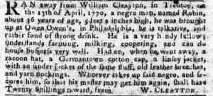 Jun 4 - Pennsylvania Chronicle and Universal Advertiser Slavery 2