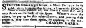Jun 5 - South Carolina Gazette and Country Journal Slavery 3