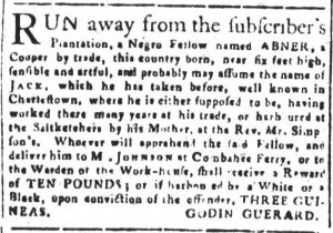 Jun 8 - South-Carolina and American General Gazette Slavery 11