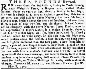 May 17 - Pennsylvania Gazette Slavery 3