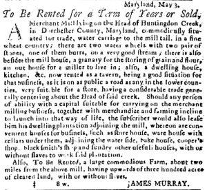 May 17 - Pennsylvania Journal Slavery 1