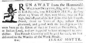 May 17 - South Carolina Gazette Slavery 9