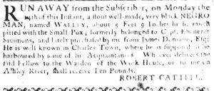 May 17 - South Carolina Gazette Supplement Slavery 1