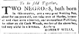 May 18 - South Carolina and American General Gazette Slavery 6