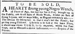 May 21 - New-York Gazette or Weekly Post-Boy Slavery 2
