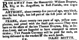 May 22 - South Carolina Gazette and Country Journal Slavery 9