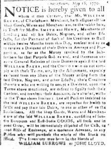 May 23 - South Carolina and American General Gazette Slavery 3
