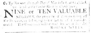 May 23 - South Carolina and American General Gazette Slavery 4