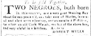 May 23 - South Carolina and American General Gazette Slavery 7