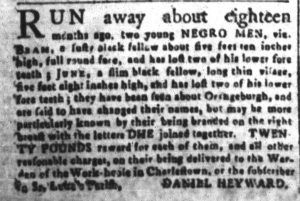 May 23 - South Carolina and American General Gazette Slavery 9