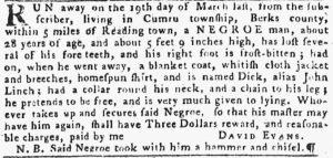 May 24 - Pennsylvania Gazette Slavery 4