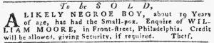 May 24 - Pennsylvania Gazette Slavery 5