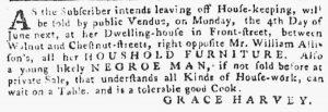 May 24 - Pennsylvania Gazette Slavery 6