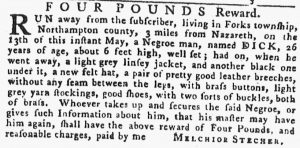 May 24 - Pennsylvania Gazette Slavery 7