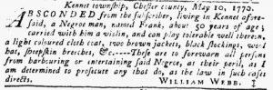 May 24 - Pennsylvania Gazette Slavery 8