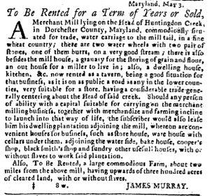 May 24 - Pennsylvania Journal and the Weekly Advertiser Slavery 2