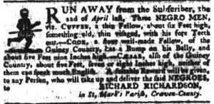 May 24 - South Carolina Gazette Slavery 10
