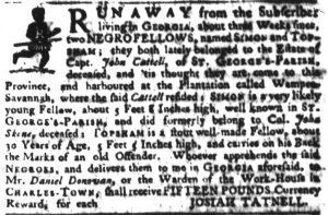 May 24 - South Carolina Gazette Slavery 2