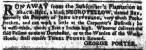 May 24 - South Carolina Gazette Slavery 4