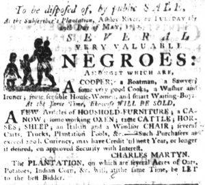 May 24 - South Carolina Gazette Slavery 5