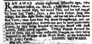 May 24 - South Carolina Gazette Slavery 7