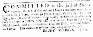 May 24 - Virginia Gazette Purdie and Dixon Slavery 4