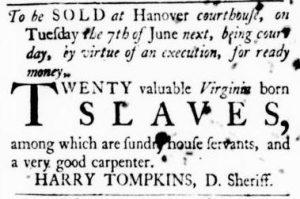 May 24 - Virginia Gazette Purdie and Dixon Slavery 6