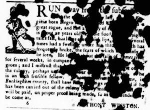 May 24 - Virginia Gazette Purdie and Dixon Slavery 7