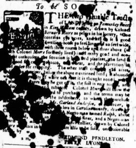 May 24 - Virginia Gazette Purdie and Dixon Slavery 8