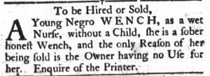 May 29 - South Carolina Gazette and Country Journal Slavery 9