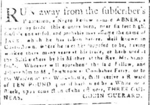May 30 - South Carolina and American General Gazette Slavery 2