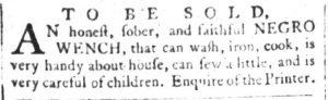 May 30 - South Carolina and American General Gazette Slavery 5