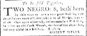 May 30 - South Carolina and American General Gazette Slavery 7