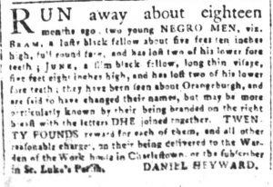 May 30 - South Carolina and American General Gazette Slavery 9