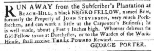 May 31 - South Carolina Gazette Slavery 7