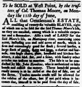 May 31 - Virginia Gazette Rind Slavery 3