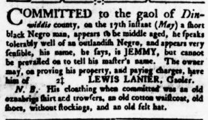 May 31 - Virginia Gazette Rind Slavery 4