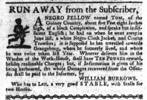 Nov 2 - South-Carolina Gazette Slavery 6