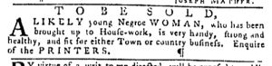 Oct 12 - Pennsylvania Gazette Slavery 2