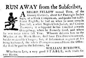 Oct 12 - South-Carolina Gazette Slavery 3