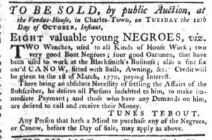 Oct 12 - South-Carolina Gazette Slavery 8