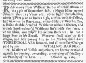Oct 16 - Boston-Gazette Slavery 1