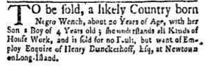 Oct 16 - New-York Gazette and Weekly Mercury Slavery 8