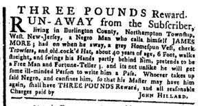Oct 16 - New-York Gazette or Weekly Post-Boy Slavery 1