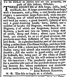 Oct 16 - Pennsylvania Chronicle Slavery 2