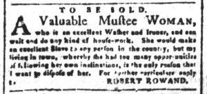Oct 16 - South-Carolina and American General Gazette Slavery 1