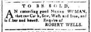 Oct 16 - South-Carolina and American General Gazette Slavery 4